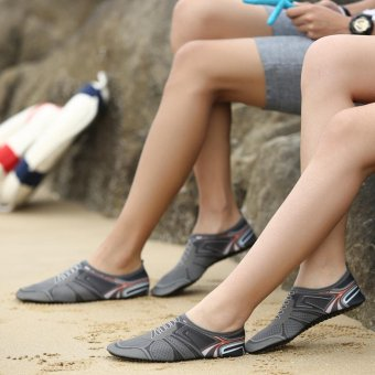 Hot Sale Male Quick Dry barefoot Water Float Shoes Aqua Socks - intl