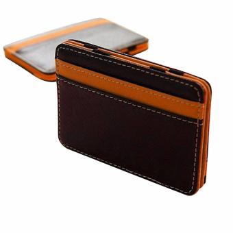 Hot Sale Money clip wallet men with Credit Card Id Holder portafoglio for male wallet clips 2 colors - intl