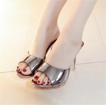 Hot Sale!!! Sexy Shoes Women Summer Fashion High Heel Sandals WomenSlippers Ladies Shoes Size 35-39 - intl - 5