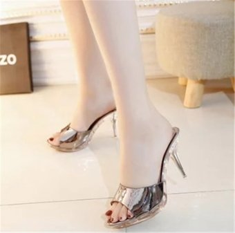 Hot Sale!!! Sexy Shoes Women Summer Fashion High Heel Sandals WomenSlippers Ladies Shoes Size 35-39 - intl - 4