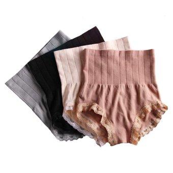 Hot Sell MUNAFIE Seamless Hip Abdomen Fat Burning Waist Slim Panties Set of 4