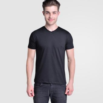 Huga Activewear Black V-Neck Tee