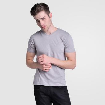 Huga Activewear Grey V-Neck Tee - 3