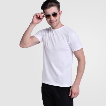 Huga Activewear White Basic Tee