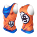 I 3D Japanese-style Cartoon printed training slim fit clothing (Wu Kong vest (D028))