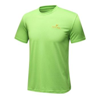 I outdoor New style short sleeved quick-drying T-shirt (Grass green color)