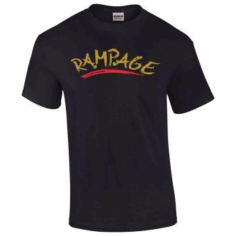 iGPrints RAMPAGE DOTA 2 Statement Classic Design T-Shirt (Black)