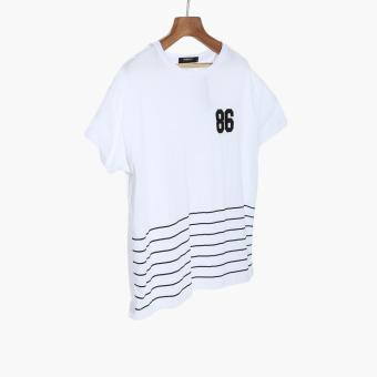 Harga SM Woman 86 Patched Tee (White)