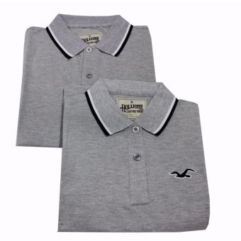 Hollister Couple Polo Shirt(Grey) Price Philippines