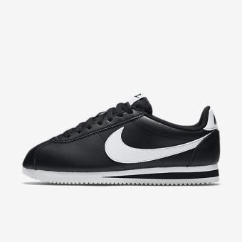 NIKE WOMEN CLASSIC CORTEZ LEATHER SHOE BLACK 807471-010 US5.5-8.5 01' - intl Price Philippines