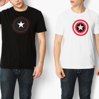 Harga Marvel 2-piece Captain America Teens Tee Set (S)