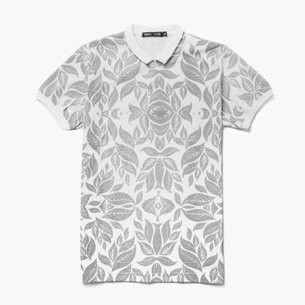 Mens's Club Mens Tropical Polo Shirt (White) Price Philippines