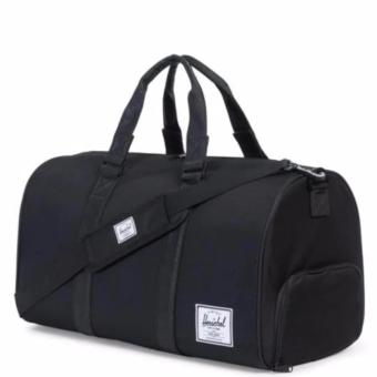 Harga HERSCHEL NOVEL DUFFLE CROSSHATCH BLACK