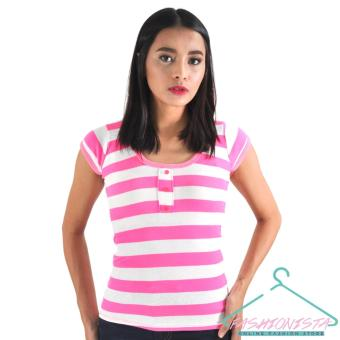 FASHIONISTA Women's Fashionable Stripe T-Shirt Price Philippines