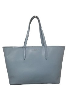 Harga Lacoste Chantaco Tote Bag (Pale Blue)