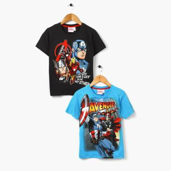 Harga Marvel Avengers Boys 2-piece Graphic Tee Set (Size 8)