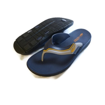 Harga World Balance Mens Slipper (Blue)