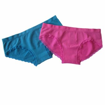 Harga H&M Pack of 2 Hipster Panties (Pink and Cobalt Blue)
