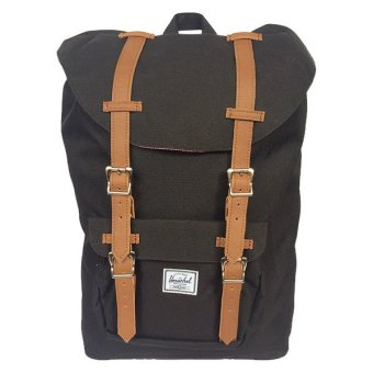 Harga Herschel Supply Co. Little America Backpack (Black/Tan)