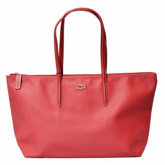 Harga Lacoste Horizontal 2016 Edition Tote Bag (Red)