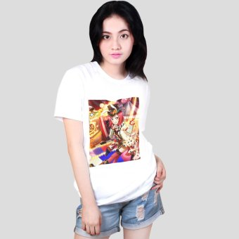 Harga ANIME ZONE Love Live! School Idol Project Maki Nishikino Printed Shirt (White)