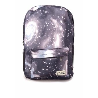 Harga Newyork Army Galaxy Cosmic Space Backpack Grey
