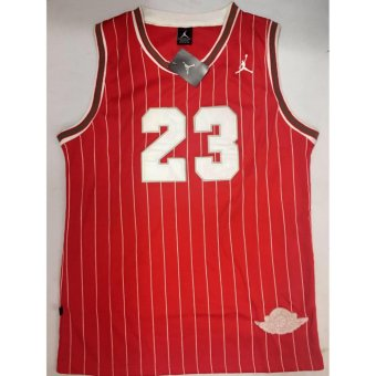 Hoops Jordan 23 Jersey Shirt (Red Stripes) Price Philippines
