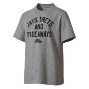 Harga Nike Jays, Treys, and Fadeaways T-Shirt - Gray