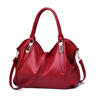 Harga korean fashion handbag (red)