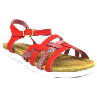 Harga Outland Andi 159195 Sandals (Red)