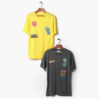 Tee Culture 2-piece Teens Graphic Tee Set (L) Price Philippines