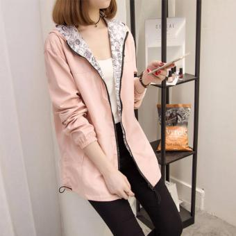The new coat female spring and autumn windbreaker - intl Price Philippines