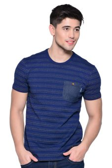 Lee Striped Pocket Tee (Real Navy) Price Philippines