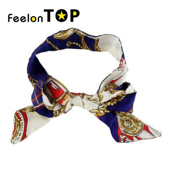 Harga Feelontop Ethnic Style Colorful Printed Polyester Bandana for Ladies - intl