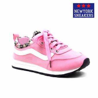 Harga New York Sneakers Sara Rubber Shoes(Pink)