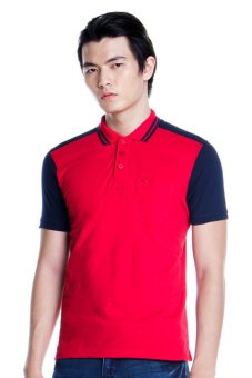 Harga Bobson Regualr Fit Combi Polo Tee (Chili Pepper)
