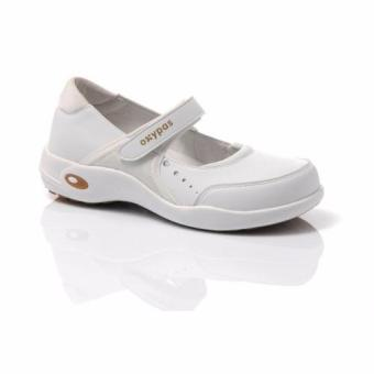 Oxypas Selena Ballerina Nursing Shoes (White) Price Philippines