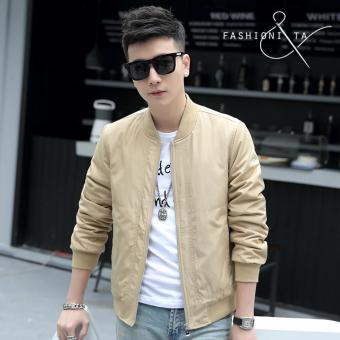Fashionista Men's Outdoor Bomber Jacket (Brown) Price Philippines