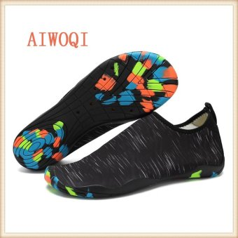 Men Women Swimming Yoga Beach Breath shoes Sandals for Summer casual shoes Barefoot Flexible Water Skin Shoes Aqua Socks for Beach Swim Surf Yoga Exercise AIWOQI - intl Price Philippines