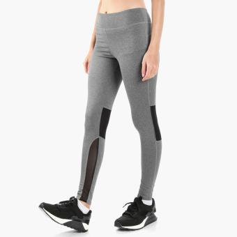 Harga SM Woman Active Mesh-Paneled Leggings (Gray)