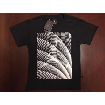 Hoops Jordan Logo with stripes diagonal t-shirt teens Price Philippines