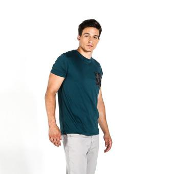 Harga Penshoppe Semi Fit Tee With Pocket Detail (Teal)