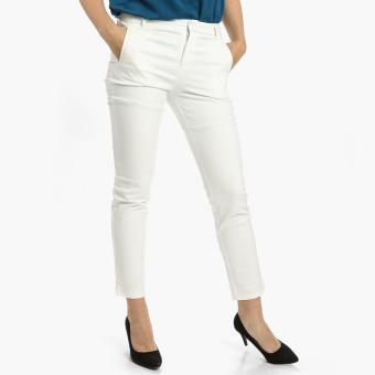 Harga SM Woman Slim Pants (Off White)