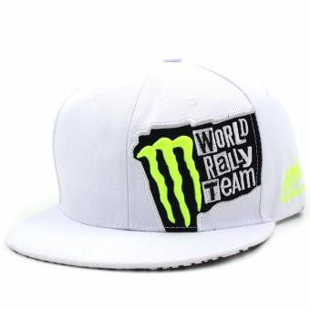 Harga Cap City Unisex Hip-hop Snapback World Rally Team (White)