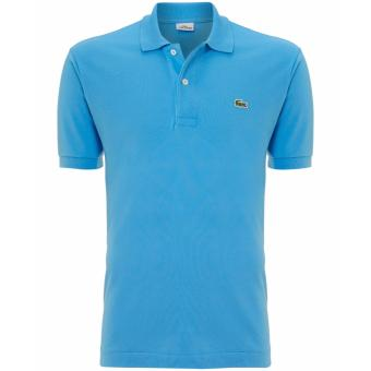 Harga LACOSTE CLASSIC POLO SHIRT FOR MEN (RAINBLUE)