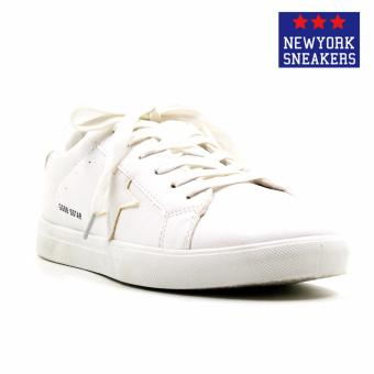 New York Sneakers Alastair Rubber Shoes(WHITE) Price Philippines