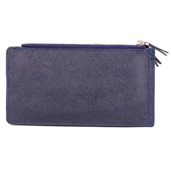 Harga Glamorosa Sheree Dual Zipper Pouch Bag (Blue)