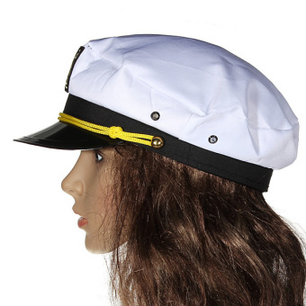 Yacht Captain Marine Skipper Sailor Navy Nautical Hat Cap Fancy Dress Costume Price Philippines