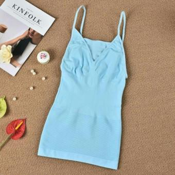 Munafie Slimming Camisole Sando (Lt. Blue) Price Philippines