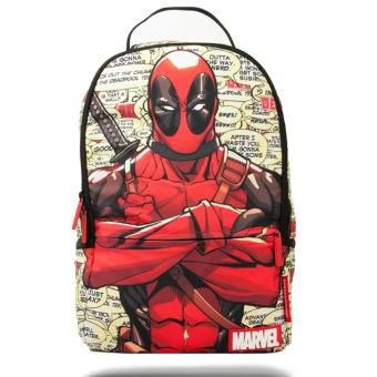 Harga Sprayground Marvel Deadpool Blurbs (Multicolor)